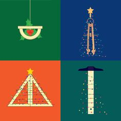http://blog.miragestudio7.com/6-architectural-christmas-posters-diy-cards/4823/