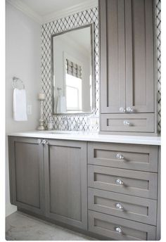 Bathroom Remodel Grey the grey cabinet paint color is benjamin moore kendall charcoal