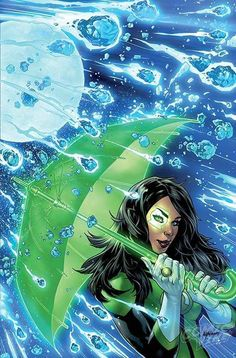 Green Lanterns #9 variant covers by Emanuela Lupacchino - this is probably one of my favourite variants