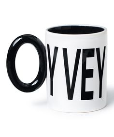 Look at this 'OY VEY' Mug on #zulily today!