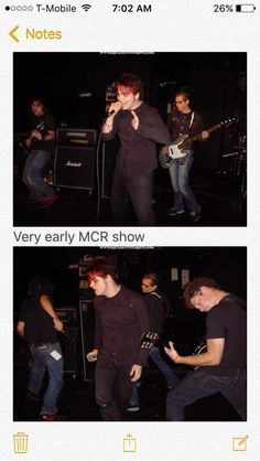 Gerard literally looks the same as he did in 2011 with his red short hair, immortal vampire confirmed