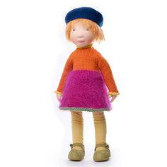 Fanny - Handmade cloth doll (partial payment accepted) AldegondeCeelen