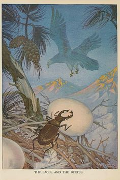 Milo Winter   Illustration from Aesop's Fables, 1919