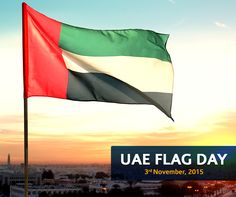 With great pride, we are excited to announce that we will be raising the UAE flag at 12 pm on the occasion of the UAE Flag Day.