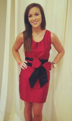 Super cute gameday dress! At VargaStore.com we love cute Red Dresses for Women. We are all about women's fashion.