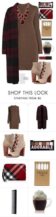 """""""147"""" by erohina-d ❤ liked on Polyvore featuring beauty, Rochas, Frye, Charlotte Russe, Burberry, Jayson Home, GHD and Smashbox"""