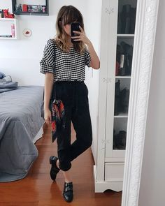 Super Vintage Look Chic Ideas Cool Outfits, Casual Outfits, Summer Outfits, Fashion Outfits, Style Casual, Casual Chic, My Style, Look 80s, Trajes Business Casual