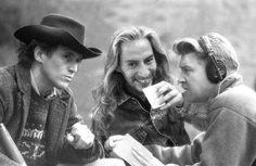 Behind the scenes photos of Twin Peaks by Richard Beymer.