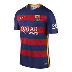Nike  Barcelona  Authentic Match Soccer Jersey (Home 2015/16)