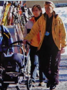 drie maanden mama en dan al op skivakantie met de kleine