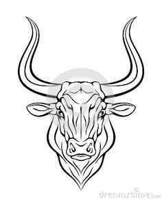 Bull head by Skalapendra, via Dreamstime