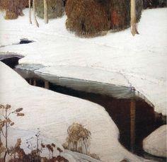 victor higgins art | By William Victor Higgins | Winter in Art