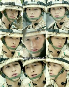 Just can't get enough....  #descendants of the sun  #song joong ki 송중기