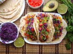 Potato Tacos -  Perfect vegan taco with simple ingredients you won't want to miss taco Tuesday!