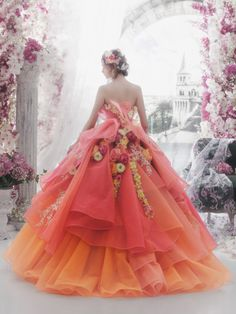 Pin by susan johnston on beautiful gowns сказочное платье, п Beautiful Costumes, Beautiful Gowns, Elegant Dresses, Pretty Dresses, Victor Ramos, Ball Dresses, Ball Gowns, Fantasy Gowns, Fairytale Dress