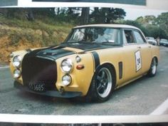 Rover P5 Saloon Race Ready