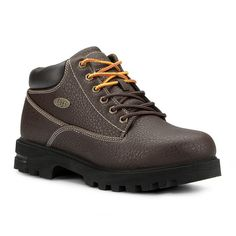 Lugz Empire Men's Water-Resistant Boots, Size: 10, Brown