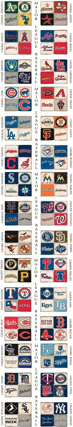 MLB Team Marble Coaster SetsALL TEAMS AVAILABLE!