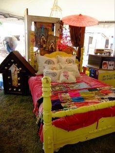 Junk Gypsy bedroom
