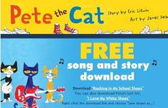 Watch. Connect. Read.: Pete the Cat: Rocking in My School Shoes