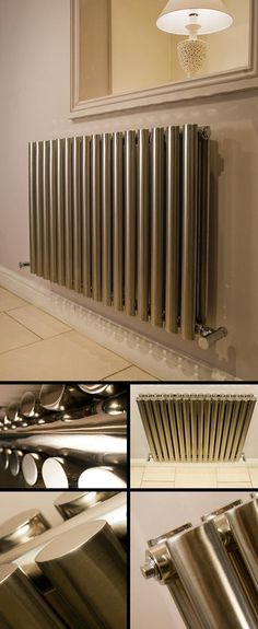 Double Oval Stainless Steel Heating Radiator (103K)