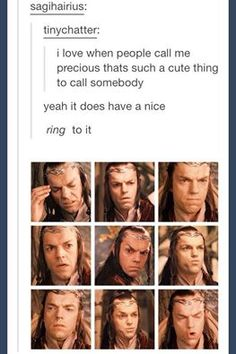 *slow clap for The Lord of the Rings fandom* Tumblr Posts, Really Funny, The Funny, Rings Tumblr, Elfen Fantasy, The Nerd, Collateral Beauty, O Hobbit, Hobbit Funny