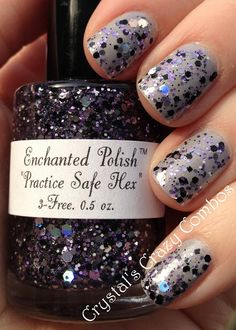Crystal's Crazy Combos: Enchanted Polish - Practice Safe Hex