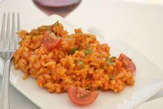 Risotto con Pomodori - Rezept