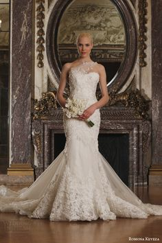 ROMONA KEVEZA Luxe #Bridal Collection Spring 2016 #Wedding Dresses | Wedding Inspirasi #weddingdress #weddinggown #weddings