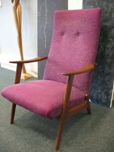 Danish teak arm chair
