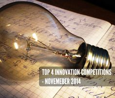 Top 4 Innovation Competitions - November 2014
