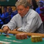 Long-time World Poker Tour host Mike Sexton made the final table of the Bay 101 Shooting Star event.