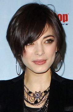 Short+Haircuts+For+Fine+Hair | Kristin Kreuk at Spike TV's 2008 Video Game Awards