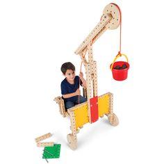 Brinquedo de madeira para montar