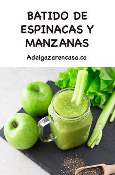 Nuevo Home - Dieta Vegetariana Vegetarian Healthy Menu, Healthy Juices, Healthy Smoothies, Healthy Drinks, Healthy Life, Healthy Recipes, Body Cleanse Drink, Detox Verde, Lemon Drink