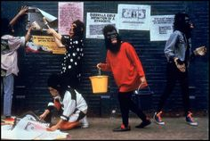 The Guerilla Girls. Getting things right for nearly 30 years.