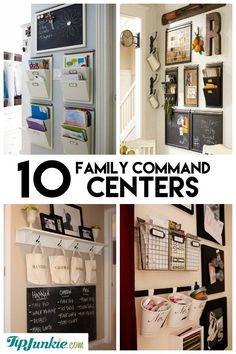 103 best family command center ideas images command centers home rh pinterest com