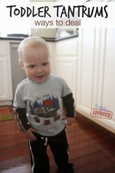 Toddler Tantrums... Ways to Deal