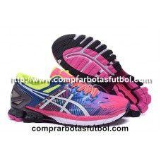 b54b3a0b9 Modelos Zapatillas De Running Asics Gel Kinsei 6 Mujer Rosa Azul Blanco