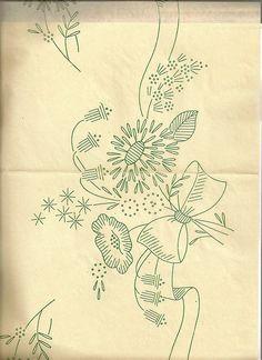 bouquet with ribbon by vintagekitchenkitsch, via Flickr