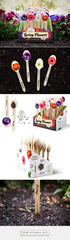 Seedspoon seed packaging by Ragini Sahai. Pin curated by #SFields99 #packaging #design