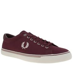 Fred Perry Burgundy Underspin Mens Trainers Guys, keep your style clean and simple as the Underspin arrives from Fred Perry. This stylish fabric plimsoll features a burgundy colourway, joined with embroidered Laurel Wreath branding in white for http://www.MightGet.com/january-2017-13/fred-perry-burgundy-underspin-mens-trainers.asp