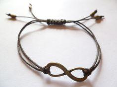 Armbänder - UNENDLICH • ARMBAND • INFINITY • FREUNDINNEN - ein Designerstück von GlitzerStub bei DaWanda