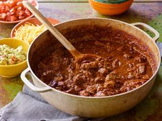 Made this once, FREAKING AMAZING!! --- Devon's Award-Winning Chili recipe from Barefoot Contessa