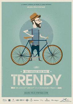 I do love a good bike illustration.