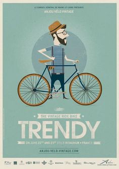 I do love a good bike illustration.