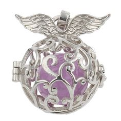 #Bola #Ball #Pendant, with painted & #hollow, more colors >>>