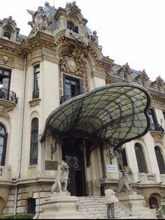 Enescu Museum, Bucarest Art Nouveau, Art Deco, Mozart, Beautiful Buildings, Oh The Places You'll Go, Architecture, Continents, Passport, Travel Photos