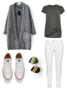 """come on, let's walk"" by boyo-bolortsetseg on Polyvore featuring Steilmann, Converse, River Island, women's clothing, women, female, woman, misses and juniors"
