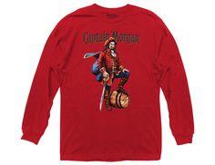Captain Morgan Vintage Label Long Sleeve Crew T-Shirt Liquor Bottle Lights, Captain Morgan, Vintage Labels, Princess, Long Sleeve, Sleeves, T Shirt, Vintage Tags, Supreme T Shirt
